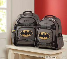 batman backpacks from pottery barn