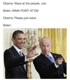 """The Internet Imagines Barack Obama and Joe Biden as Best Buds and Their """"Conversations"""" Are Hilarious"""