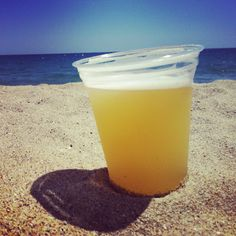 Barcelona Besotted: ...because of the perfect summer beach drink, the 'clara'...