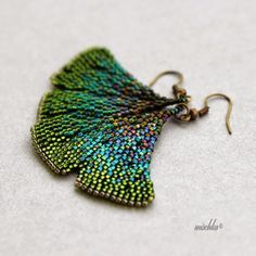 Gingko Leaves make beautiful jewelry -- something about the shape is so elegant