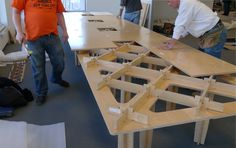 Fabricating AtFAB. The BotCam recorded Bill Young and his two ShopBot CNC Routers as they fabricated 21 AtFAB furniture pieces to be install...