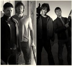 Season 9 - Season 1.  My, how our boys have grown.  <3