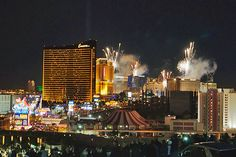 Happy New Year on the Las Vegas Strip. Photo by InSapphoWeTrust