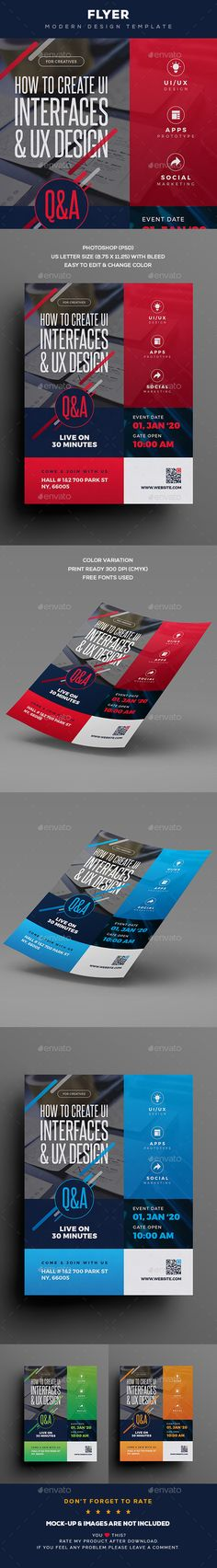 Flyer - Flyers Print Templates   https://graphicriver.net/item/flyer/20475157?ref=alena994