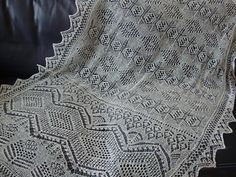 The Williamson Stole by The Ravelry Heirloom Knitting Forum - free