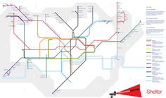 Shocking New Tube Map Redefines Zones By Affordability | Londonist