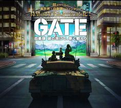 GATE: JIEITAI KANOCHI NITE, KAKU TATAKAERI Pv: https://www.youtube.com/watch?v=huXGRiNnX1g