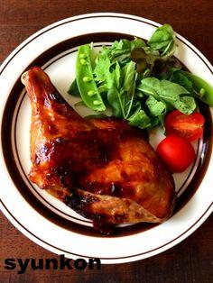【簡単!!めちゃくちゃオススメです】クリスマスに*レンジ&トースターで!照り照り骨付きチキン | 山本ゆりオフィシャルブログ「含み笑いのカフェごはん『syunkon』」Powered by Ameba