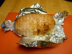 Homemade Lunch meat Turkey Roast - after cooling