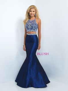 Everyone will be in love with this stunning two piece mermaid dress! And it's at Rsvp Prom and Pageant, your source for the Hottest 2016 Prom and Pageant Dresses! Available sizes: 0-24 Available color