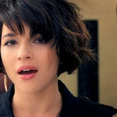 another norah jones hair cut/ style I like | pretty | Pinterest ...