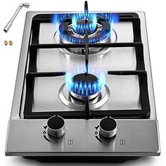 Easy To Clean Thermocouple Protection Gasland chef GH90SF 36 Built-in Gas Stove Top ETL Safety Certified Gas Cooktop Gas Stove Top with 5 Sealed Burners Stainless Steel LPG Natural Gas Cooktop