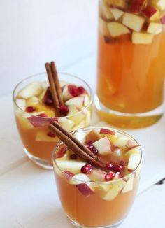 Apple Cider Sangria is the ideal boozy fall beverage.