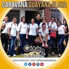 Los Asesores #Century21 Guayana Plaza en #Caravana para conocer las propiedades que ofrecemos en Puerto Ordaz.  Más Capaces Más Audaces Más Rápidos.  #inmuebles #BienesRaíces #Inmobiliario #compra #venta #alquiler #oficina #local #casa #apartamento #terreno #pzo #pzocity #C21 #Venezuela #realestate #realtor #realtorlife