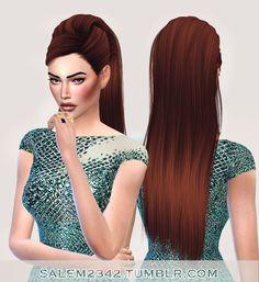 Salem2342: Stealthic`s Reprise Hair Retextured - Sims 4 Hairs - http://sims4hairs.com/salem2342-stealthics-reprise-hair-retextured/