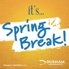 Have a great #SpringBreak and remember to smile!