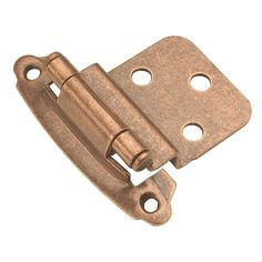 Hickory Hardware Surface Self-Closing Offset Cabinet Hinge Antique Brass Cabinet Hinges Overlay Hinges Traditional Hinges Brass Hinges, Door Hinges, Flush Hinges, Butt Hinges, Decorative Hinges, Self Closing Hinges, Hinges For Cabinets