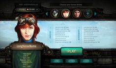 ArtStation - LUCKCATCHERS: steampunk interface, Dmitriy Fomenko