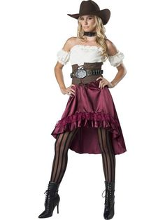 The Womens Saloon Gal Costume is the best 2019 Halloween costume for you to get! Everyone will love this Womens costume that you picked up from Wholesale Halloween Costumes! Saloon Girl Costumes, Western Costumes, Adult Costumes, Costumes For Women, Diy Costumes, Wild West Costumes, Wholesale Halloween Costumes, Costume Supercenter, Saloon Girls