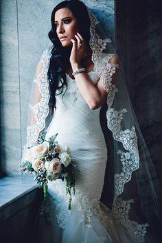 Noiva - The Discriminating Bride: Our Bride Christina