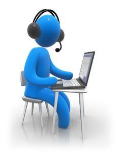 Virtual Coaching - Blue Man