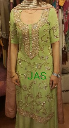 Colors & Crafts Boutique™ offers unique apparel and jewelry to women who value versatility, style and comfort. For inquiries: Call/Text/Whatsapp Pakistani Couture, Pakistani Outfits, Indian Outfits, Punjabi Fashion, Indian Fashion, Indian Attire, Indian Wear, Punjabi Suits, Salwar Suits