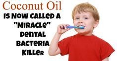 Coconut oil is one of the best natural remedies for oral health Homemade Toothpaste Recipe Ingredients: Half a cup of raw, organic coconut oil 2-3 tablespoons of baking soda 15-30 drops of peppermint, thieves, or lemon essential oil #oralhealth