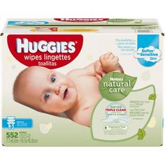 Huggies Natural Care Baby Wipes Refill Unscented Hypoallergenic Aloe and Vitamin E 552 count Baby Wipes Travel Case, Baby Wipe Case, Wipes Case, Baby Wipes Container, Baby Wipe Warmer, Pouch Packaging, Baby Skin Care, Baby Care, Disposable Diapers