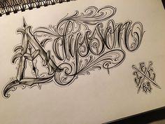 "57 Likes, 3 Comments - El Carnicero (@el_carnicer0) on Instagram: ""Letters sketching…"""