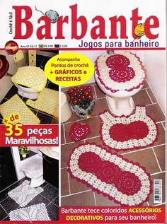 Crochet Knitting Handicraft: for bathroom