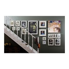 "RIBBA Frame IKEA You can choose to use the frame for 3 pictures 5x7"" or 1 picture 20x9""."