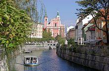Eslovenia - excursiones fluviales en Ljubljana.
