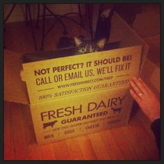 You call it FreshDirect.... but it seems rather furry.