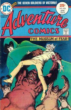 Adventure Comics #438, Jim Aparo, the Spectre