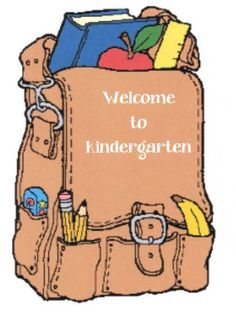 Classroom Freebies: Welcome To School Backpacks