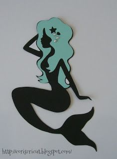 Coris Cricut: Mermaid Silhouette