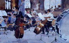 PINTORES Y PINTURAS - JUAN CARLOS BOVERI: JOHN YARDLEY