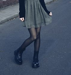 sheer green dress with cardigan sweater | early autumn/fall