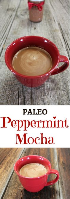 A clean Peppermint Mocha Recipe! This coffee creamer recipe is Paleo and Vegan with low carb, keto, whole 30, sugar detox, and light options given!