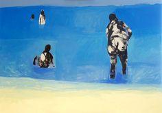 Seaside 2, Acrylic, 100cm x 70cm