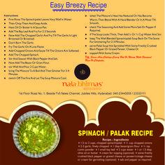 Spinach Palak  01