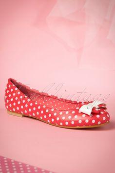 Banned Marigold Ballerinas Red 410 27 15130 06162015 01W