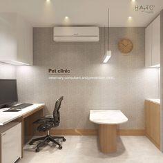 Medical Office Design, Pharmacy Design, Healthcare Design, Clinic Interior Design, Clinic Design, Dog Clinic, Animal Clinic, Dog Spa, Pet Hotel