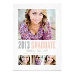 PRETTIEST EYES 2013 | GRADUATION PARTY INVITATION  #graduation #classof2014 #graduationparty #graduate