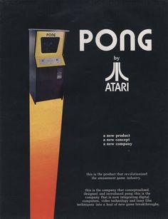 Atari Arcade Pong, 1972