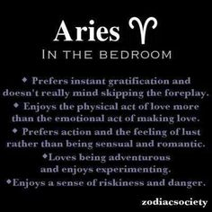 Seduce aries man