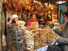 This photo from Vienna, East is titled 'Vienna Christmas Market'. Vienna Christmas, Christmas In Germany, German Christmas Markets, Christmas Markets Europe, Europe Holidays, Christmas Travel, Christmas Market Stall, Christmas Booth, Christmas Village Houses