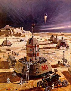 70s Sci-Fi Art : Photo