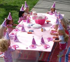 Girl Doll Party on Pinterest  American Girl Parties, American Girl ...