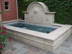 Turn your backyard into a private oasis with an Endless Pools swim spa. Install above ground or inground. Hot Tub Backyard, Small Backyard Pools, Backyard Water Feature, Swimming Pools Backyard, Swimming Pool Designs, Lap Pools, In Ground Spa, In Ground Pools, Langer Pool